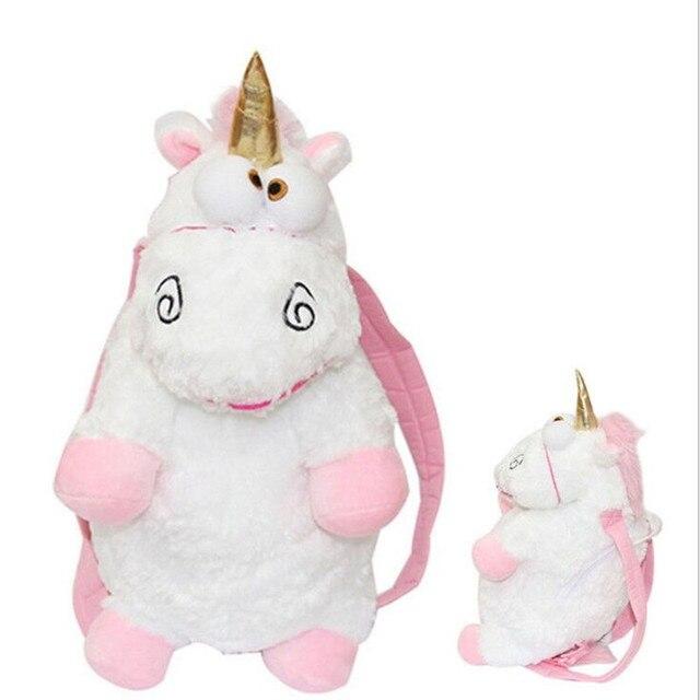 New Cute Plush Toys designer Unicorn stuffed animal unicorn Women Bag  Backpack Girls children friends Birthday Gift SchoolBags c0cb1a42ce436