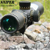 SNIPER VT 4-16X40 MFPL Frist Focal Plane Riflescopes FFP Rifle Scope Hunting Trail  Riflescope Tactical Optical Sight Reticle