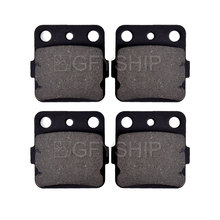 цена на For HONDA TRX420 FA Fourtrax Rancher AT 2009 2010 2011 2012 2013 2014 TRX 420 Motorcycle Front Rear Brake Pads Brake Disks