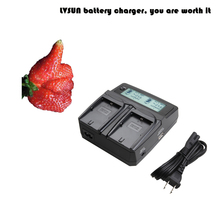Udoli EN-EL5 ENEL5 EN EL5 Battery Dual Charger for Nikon Coolpix 3700 4200 5200 5900 7900 P6000 P100 P3 P4 P50 S10 P500 AA/AAA
