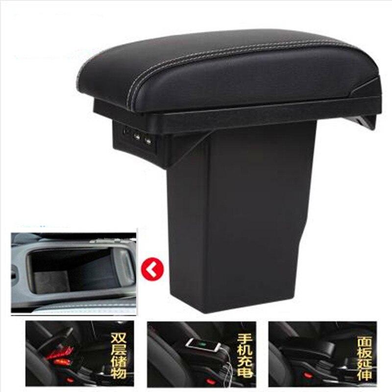 For Peugeot 2008 armrest box