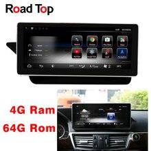 10,25 «Android 8,1 Octa 8-Core Процессор 4 + 64G Автомагнитола gps навигации Bluetooth, Wi-Fi головное устройство экран для Mercedes Benz E W212 S212