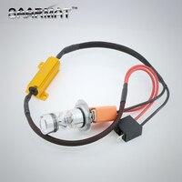 2x Plug Play H7 No ERROR 15PCS SHARP Chips LED Bulbs Fog Daytime Running Light Canbus
