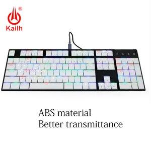 Image 5 - Kailh 104 Niedrigen Profil Tastenkappen 1350 Schokolade Gaming Tastatur Mechanische schalter ABS Tastenkappen kailh choc tastenkappen