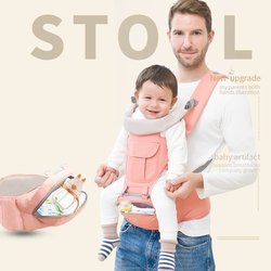 0-24 Months Breathable Front Baby Carriers Backpacks Comfortable Sling Backpack Pouch Wrap Adjustable Safety Carrier US/FR/ES