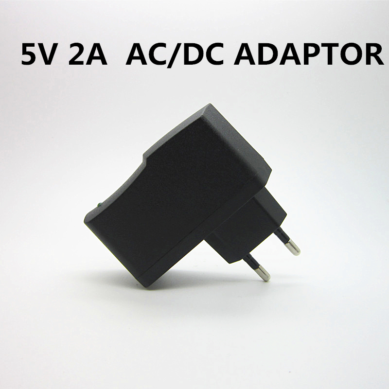 1 шт. AC 100 240V DC 5V 2A 2000MA EU Plug LED Light USB настенное зарядное устройство адаптер питания зарядное устройство для мобильного телефона микро данных|Адаптеры AC/DC|   | АлиЭкспресс