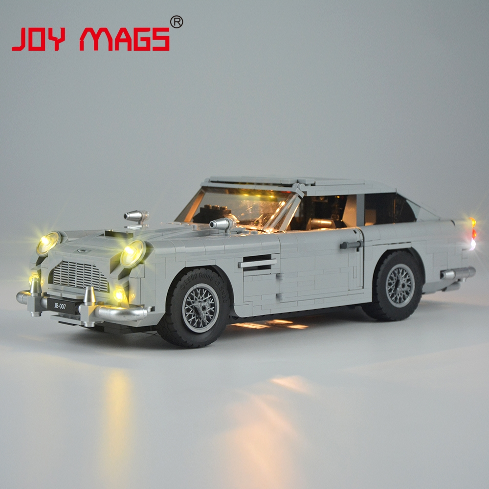JOY MAGS Led Light Kit (Only Light Set) For Creator James Bond Aston Martin DB5 Light Set Compatible With Lego 10262 And 21046 joy mags only led light set building blocks kit light up kit for creator series f40 car compatible with lego 10248 21004