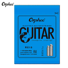 Orphee 6pcs/set Practiced Electric Guitar Strings Nickel Plated Steel Accessories With Original Retail Package