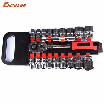 A set of tools rapriring car&Motorcycle, sleeve suit, wrench, sleeve, connecting rod repair tool, motorcycle maintenance tool
