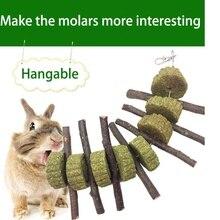 Маленькие домашние животные хомяк шлифовальные зубы торт печенье животные кролик Шиншилла Guniea свинья молярная жевательная игрушка