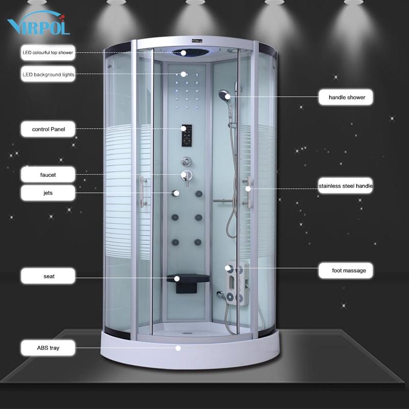 19 90cm White NO Steam shower cabin bath douche cabine Shower ...