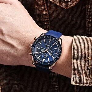 Image 3 - BENYAR 2018 nowy mężczyzna zegarka biznes pełny stalowy kwarcowy Top marka luksusowe dorywczo wodoodporny sport męski zegarek Relogio Masculino