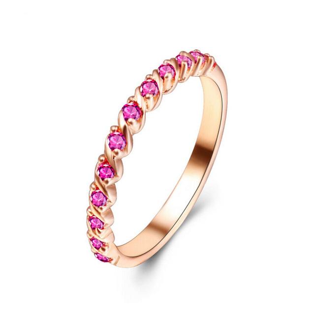 Jansun Anéis de Prata 100% Garantido Real 925 Sterling Silver Jewelry Anel YH4613