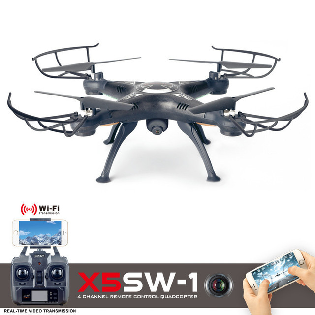 X5SW-1 WIFI RC Drone With Camera FPV Quadcopter With Camera 2.4G RC Helicopter 6-Axis Drone  Professional VS JJRC H31 JJRC H20