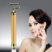 Japan quality Beauty instrument 24K Golden Germanium 7Type Beauty Bar Skincare tool Face Lift Facial massager Body shaping tools