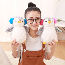 Appease Baby Pillow 25/35cm Penguin Plush Toys Soft Stuffed Animals Dolls Kids Toy Children Girls Birthday Gifts Baby Plush Toys