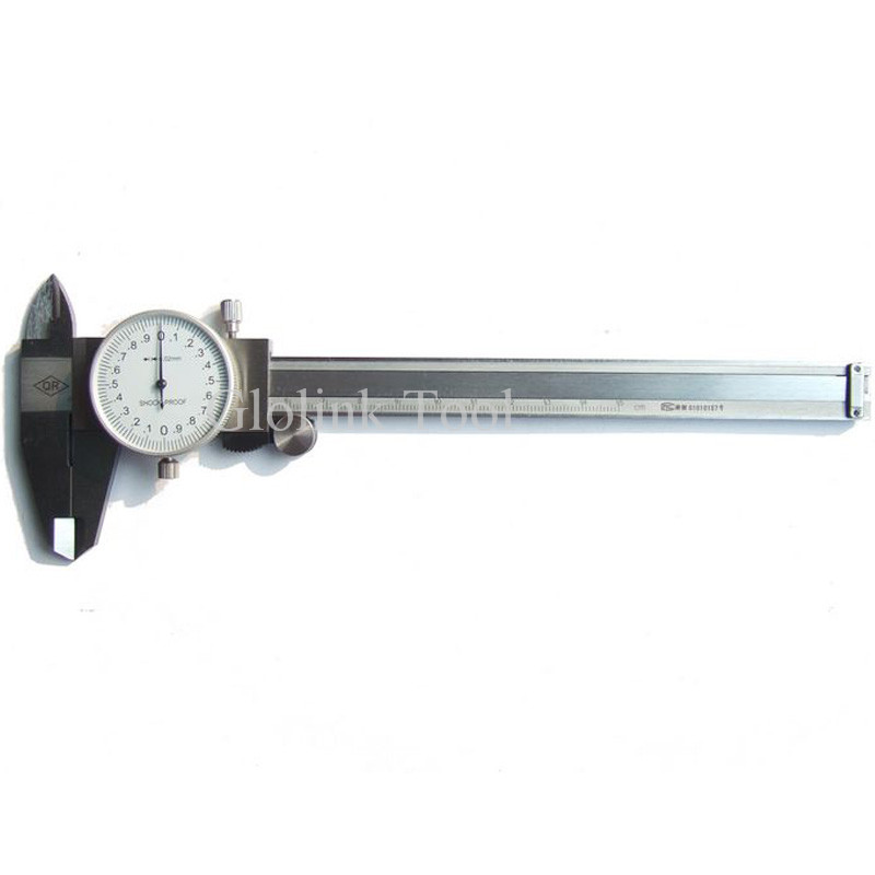 Dial Caliper 0-150mm Metric Stainless Steel Shock-proof Measurement Gauge Calipers Measuring Tool High Quality dial caliper 0 200mm 0 02 metric stainless steel shock proof measurement gauge calipers