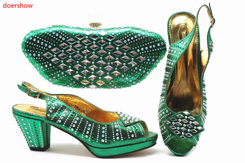 doershow New green color Italian Shoes With Matching Bags African Women Shoes and Bags Set For Prom Party Summer Sandal!!HTB1-8doershow New green color Italian Shoes With Matching Bags African Women Shoes and Bags Set For Prom Party Summer Sandal!!HTB1-8