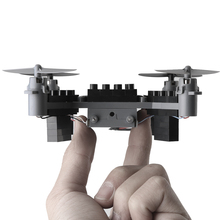 2017 New product Wifi FPV Distant Management Assembled blocks drones fidget spinner brinquedos toys for youngsters 2.4g Constructing block