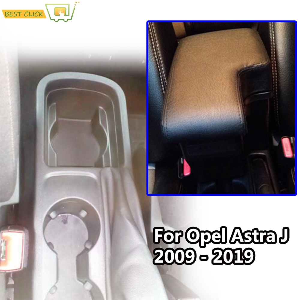 Modification Armrest For Opel Astra J 2009 2019 Central Content Black Leather 2010 2011 2012 2013