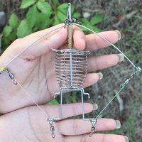 Multi Function Automatic Fishing Gear Lazy Alarm Fishing Tackle Hook Double Hook Automatic Fishing Launcher