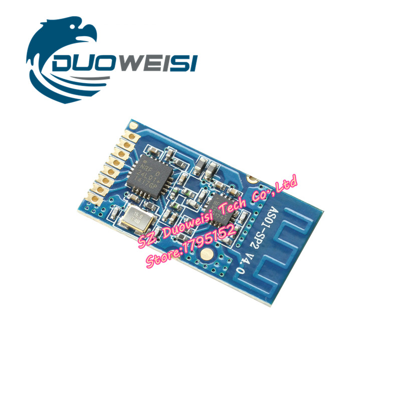 AS01-ML01SP2 NRF24L01 + wireless module PA+ LNA long-distance data transmission / 2.4G industrial-grade serial port / high power 1pcs 3km 433mhz sx1278 lora long distance wireless data transmission module