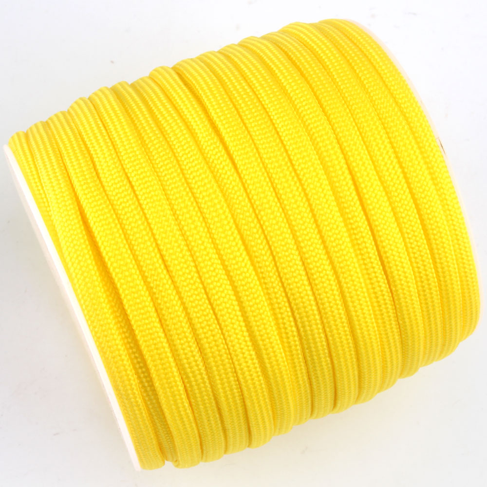 252 Colors 100FT/Spools Paracord 550 Paracord Rope Type III 7 Stand Parachute Cord Outdoor Camping Survival Wind Rope Wholesale 100ft 550lb nylon paracord parachute cord string rope for camping hiking survival