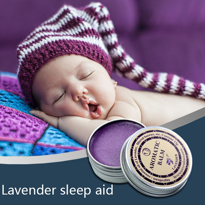 Lavender Help sleep Soothe aromatic balm insomnia relax aromatic balm Fragrances & Deodorants