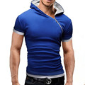 2016 Mens Polo Shirt Short-Sleeve Solid Polo shirt Men Polo Homme Slim Mens Clothing Camisas Hooded Camisa Polo Shirt