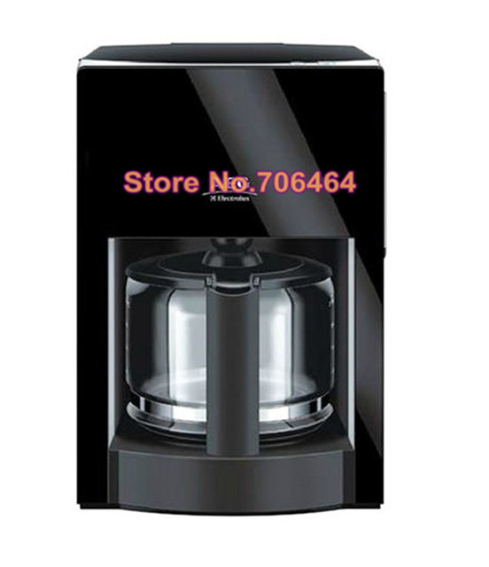 Free shipping Fully automatic drip coffee maker Portable electric appliance coffee machine simple design save kitchen space Appliances