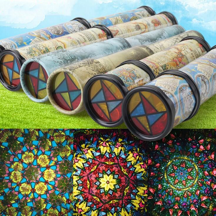 Large Scalable Rotating Kaleidoscopes Extended Rotation Adjustable Fancy Colored World B ...