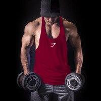 Modal Male Fitness Bodybuilding Racerback Tank Tops Men Fitness Sleeveless Vest Cotton Singlets Gasp Muscle Shirt