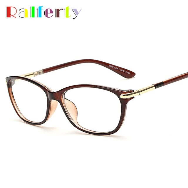 686e27900c8 Ralferty Cat Eye Glasses Frame With Clear Lens