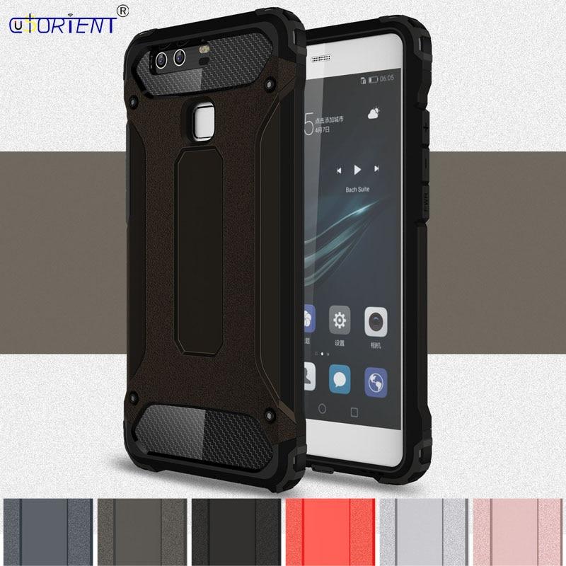 US $4 04 8% OFF|Hybrid Armor Case for Huawei P9 P 9 EVA AL00 EVA DL00 EVA  AL10 AL00 DL00 AL10 Phone Cover Huawei P9 EVA L09 L19 L29 Bumper Cases-in