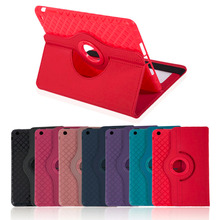 Super Thin 360 Degree Rotation PU Leather Tablet Cover Case Shockproof Tablet Protective Cover Suitable For Ipad mini 1/2/3