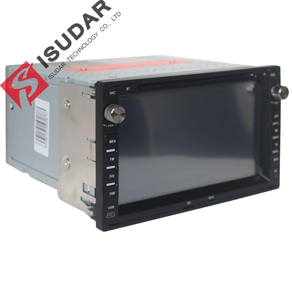 Lecteur multimédia de voiture Isudar GPS 2 Din 7 pouces pour VW/Volkswagen/PASSAT/B5/MK5/GOLF/POLO/TRANSPORTER Radio fm BT 1080P carte Ipod - 4