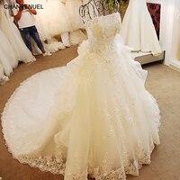 Xj63244 Online Shop China Bling Bling 2015 Wedding Dress With Crystals V Neck Dubai Wedding Dresses