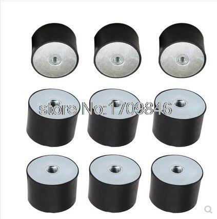 5pcs 25*20 M6*18 M6 Type VV Rubber Anti Vibration Mount silent block Base Block