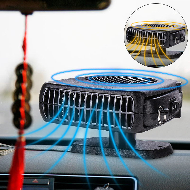 2 in 1 auto car heater heating cooling fan defroster demister dc 12v 150w for vehicle portable. Black Bedroom Furniture Sets. Home Design Ideas