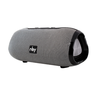 Image 2 - NBY אלחוטי Bluetooth רמקול סאב נייד רמקול עם מיקרופון חיצוני רמקול קול מערכת 10W סטריאו מוסיקה סראונד