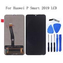 """6.21 """"tela de exibição original Para Huawei P Inteligente 2019 LCD Screen Display Toque Digitador Assembléia P 2019 Smart Display Reparação ferramenta de peças"""