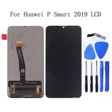 Pantalla original de 6,21 pulgadas para móvil, montaje de digitalizador táctil P Smart 2019, herramienta de reparación de pantalla, para Huawei P Smart 2019