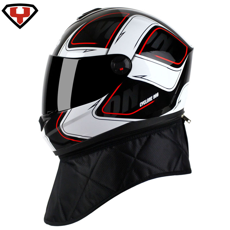 2017 Summer New Knight protection YOHE Full Face motorcycle helmet YH966 motorbike helmets made of ABS PC visor size M L XL XXL 2018 summer new gxt half face motorcycle helmet prince retro motorbike helmets made of carbon fiber size m l xl xxl black color
