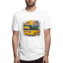 47a10a578f111 2019 nueva llegada Ayton Senna Fórmula 1 coche de carreras F1 T camisa para  niño divertido