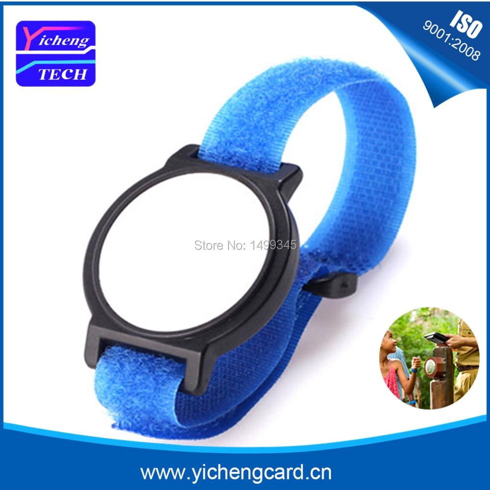 New arrival 200pcs 125Khz RFID Wristband Bracelet EM4100 Waterproof Proximity Smart Card Watch Type for Access Control