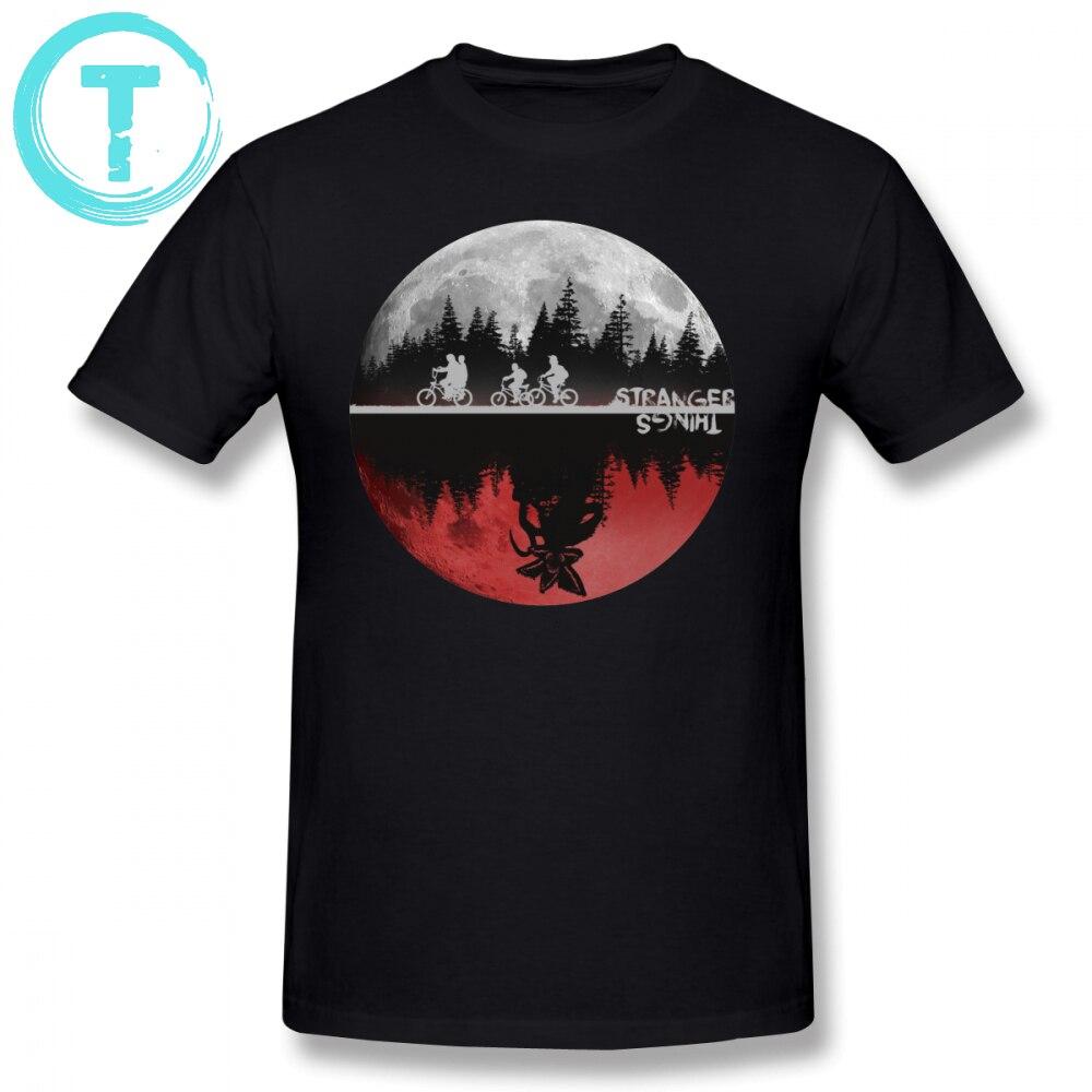 Stranger Things T Shirt Stranger Things T-Shirt Fashion Short Sleeves Tee Shirt Print Funny 5x Mens 100 Percent Cotton Tshirt