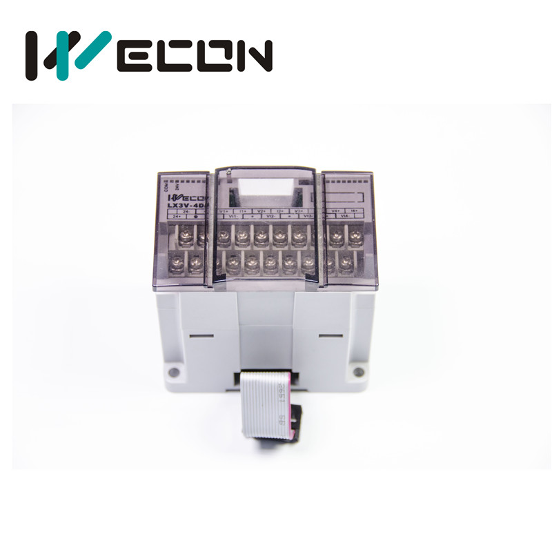 Wecon PLC module LX3V-16EYR 16 Points Output Relay om zfv sc90 140605 industry industrial use automation plc module p v