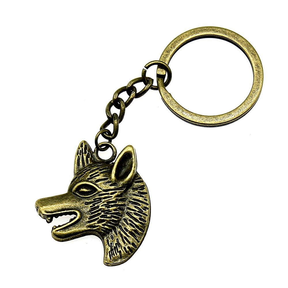 Hot Sale New Car Keychain Key Charm Tiger Head Animal Cool Keychain DIY Gift For Boyfriend in Key Chains from Jewelry Accessories