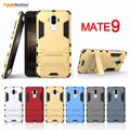 Armor Case For Huawei MATE 9 Heavy Duty Tough 2 in 1 Hybrid Phone Case For MATE 9 PC+TPU Shockproof Cover With Holder CL1212