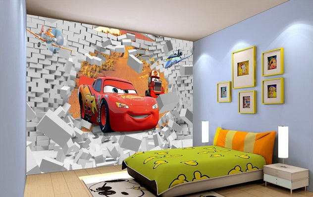 Kids Bedroom Background aliexpress : buy free shipping eco friendy 3d huge mural